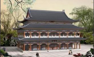 中国古建筑防水